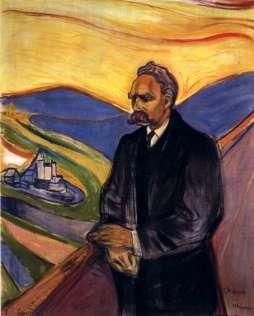 """""""Nietzsche"""" - por Edward Munch"""