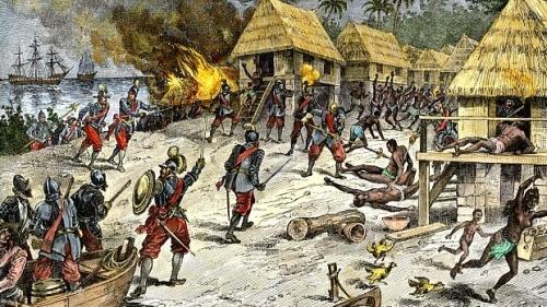 [Imagem: ilustracao-retrata-o-genocidio-dos-indio...;amp;h=281]