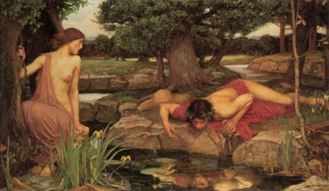 """Eco & Narciso"", pintura de John William Waterhouse (1903)"