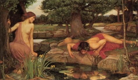 """Eco & Narciso"", pintura de John William Waterhouse (1903)"