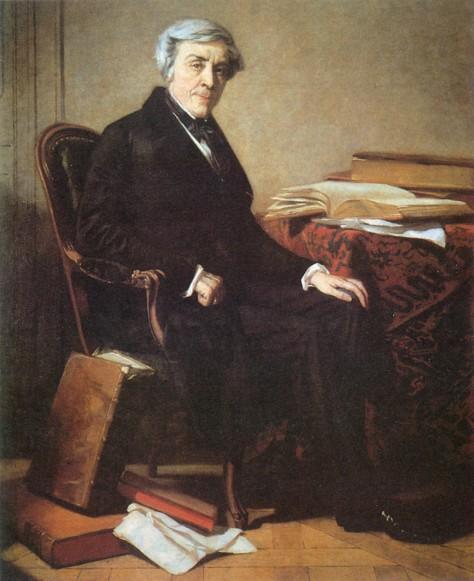 Jules Michelet (1798-1874), historiador francês