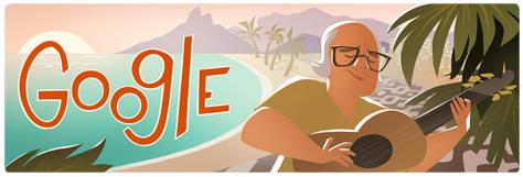 Homenagem do Google ao centenário de Vinícius