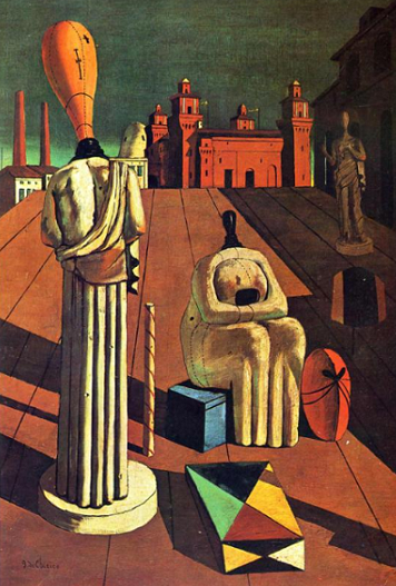 Giorgio de Chirico - The Disquieting Muses, 1916-1918