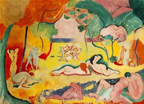 "Henri Matisse, ""La Joie de Vivre"" (1906)"