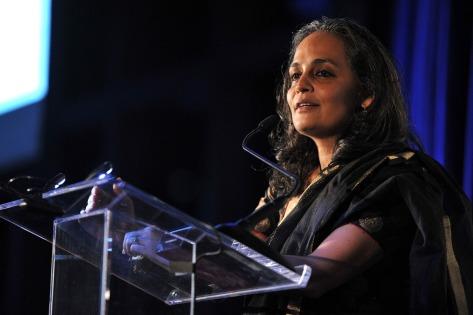 Arundhati Roy, escritora e ativista indiana, autora do romance