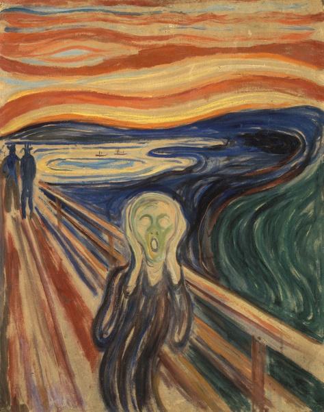 "Edvard Munch, ""O Grito"""