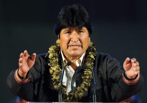 Evo Morales, presidente da Bolívia (de 2006 até hoje)