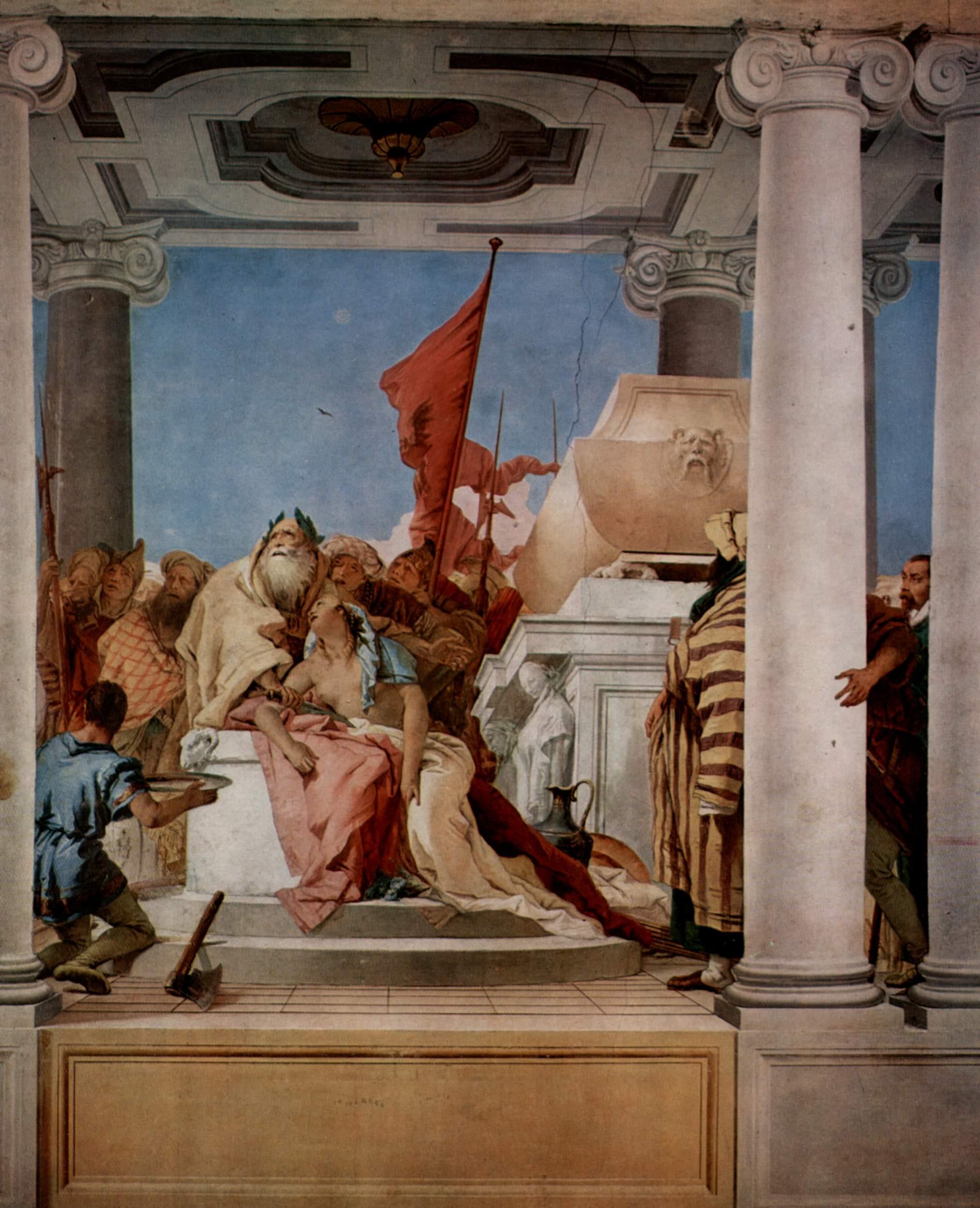 Giovanni Battista Tiepolo (1696-1770), O Sacrifício de Ifigênia