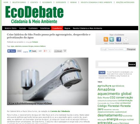 Ecodebate