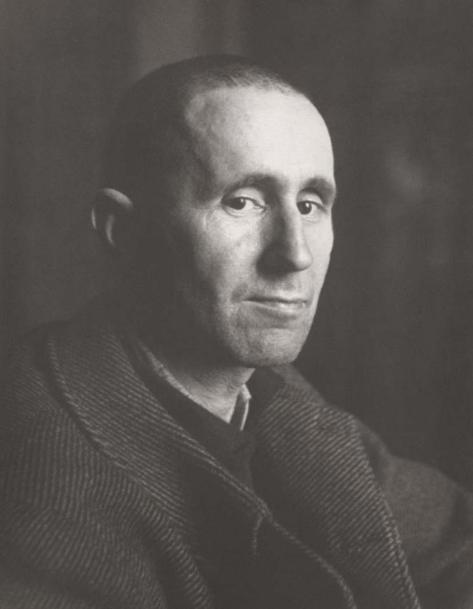 BERTOLD BRECHT (1898-1956).  Paris, 1937 - Photo by Josef Breitenbach
