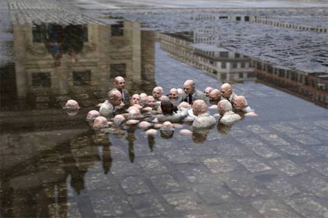Líderes Mundiais Discutindo a Catástrofe Ecológica...