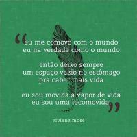 """""""Quem anda me comendo é o Tempo..."""" (Viviane Mosé)"""