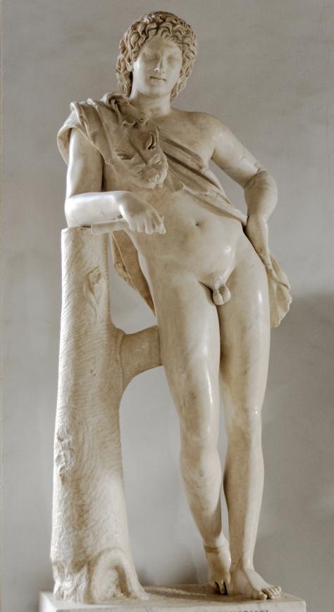 Praxiteles Leaning_satyr_Musei_Capitolini_MC739