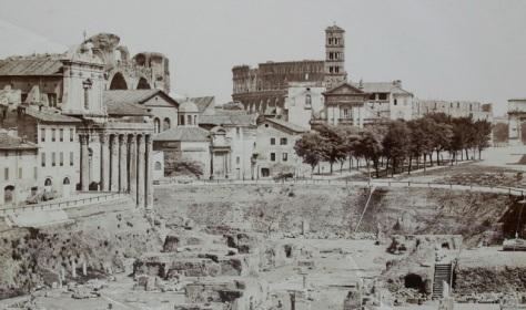 Roma em 1860