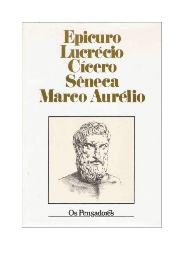 Biblioteca epicurista 15 livros completos para compreender a livro volume v os pensadores epicuro lucrcio ccero fandeluxe Images