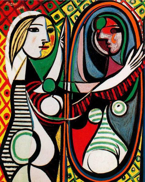 Pablo Picasso, Garota Diante do Espelho (1932)