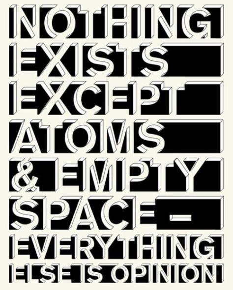 atomos-e-vazio