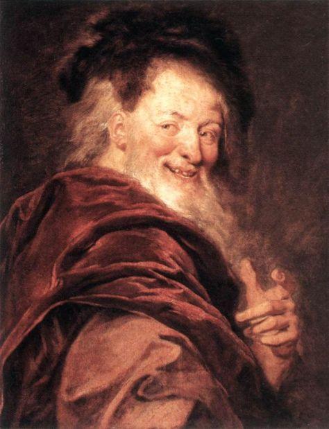 Demócrito em pintura de Antoine Coypel, 1692.
