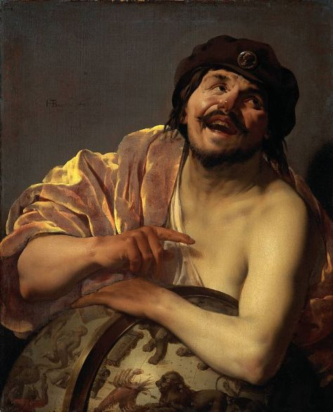 """Demócrito"", de Hendrik ter Brugghen"