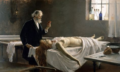 """""""A Autópsia"""" de Enrique Simonet (1890)"""