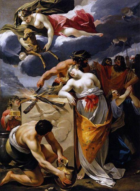 """""""O Sacrifício de Ifigênia"""" de François Perrier"""