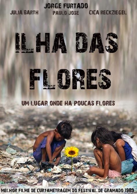 Ilha Das Flores Jorge Furtado Filme Movie Film O Teatro Da Vida 1989 Pôster Cartaz