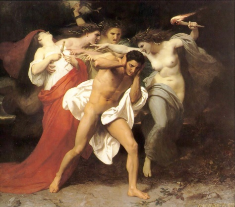"""As Fúrias atormentam Orestes"", de William-Adolphe Bouguereau_(1825-1905)"