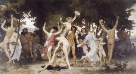 """A Juventude De Baco"", de William-Adolphe Bouguereau_(1825-1905)"