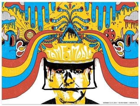 Tame-Impala-Oakland-Poster-Modern-Giant