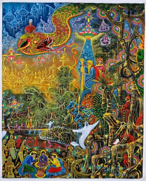 Sumac Icaro by Pablo Amaringo