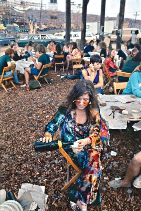 Janis Joplin em Woodstock, 1969 Siga viagem com o DVD