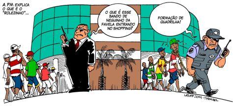 Cartum do sátiro Carlos Latuff