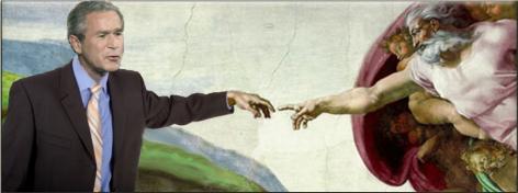 George_w_bush_creationism