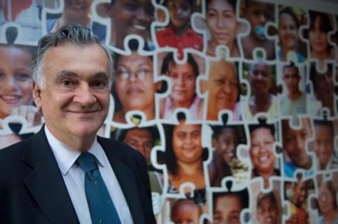 29/04/2010. Crédito: Pedro França/Minc. Brasil. Brasília-DF. Ministro Juca Ferreira participa da inauguração da Biblioteca Parque de Manguinhos - RJ