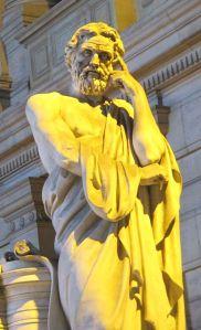 Estátua de Licurgo de Esparta (em Bruxelas)