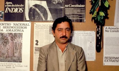 Presidente do Sindicato dos Seringueiros de Xapuri.