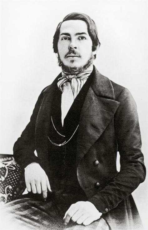 Friedrich Engels, 1858