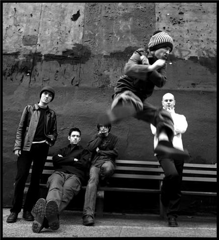 Radiohead, New York, NY 1997. Photo by Danny Clinch