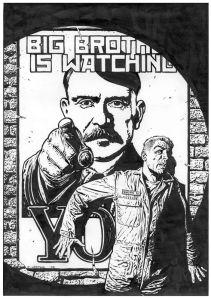 """Distopia que denuncia e satiriza o Totalitarismo, """"1984"""" de George Orwell não era um manual de instruções"""