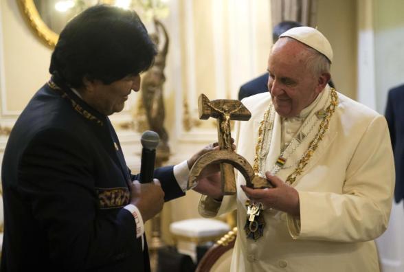 Evo Morales Bolivia