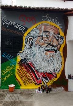 Grafite na Universidade Estadual do Ceará (UECE)