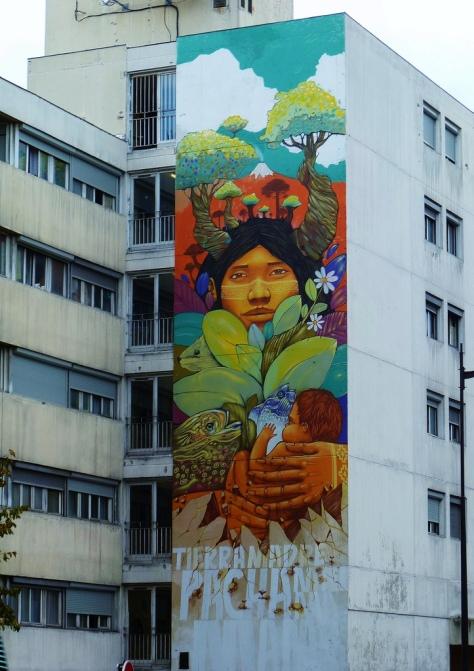 """Tierra Madre Pacha Mama"" - Graffiti"