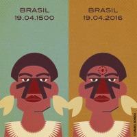 """""""OS INVOLUNTÁRIOS DA PÁTRIA"""" por Eduardo Viveiros De Castro - aula pública durante o ato Abril Indígena, Cinelândia, RJ, 20/04/2016"""