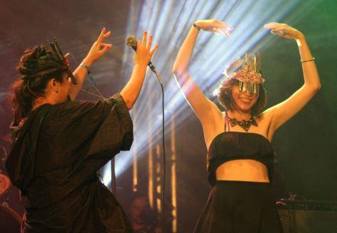 Ava Rocha e Salma Jô