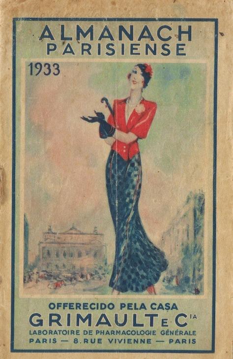 Almanche capa 1933