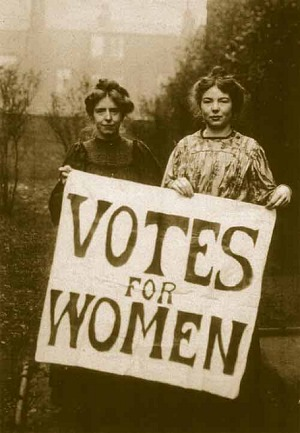 Annie Kenney and Christabel Pankhurst used violent tactics in Britain as members of the Women's Social and Political Union (WSPU)