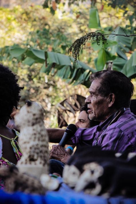 Pajé Alcindo, 107 anos. Foto: Pedro Henriques.