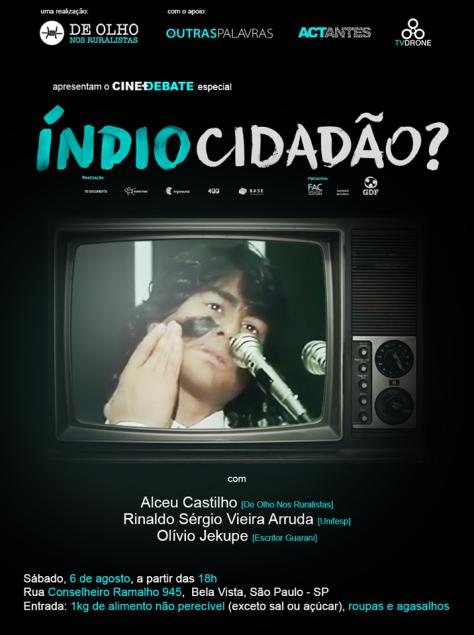 """""""Índio Cidadão?"""", um documentário de Rodrigo Siqueira Arajeju"""