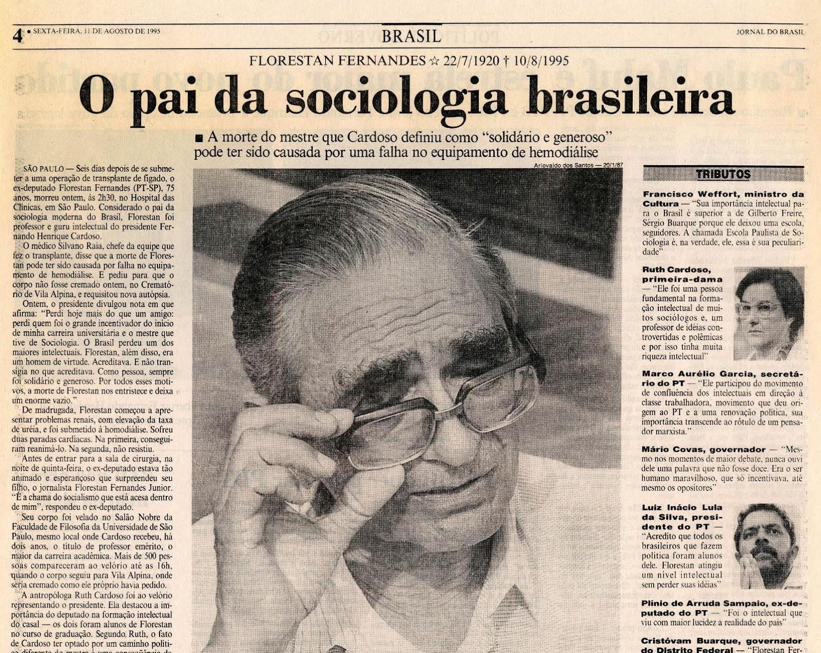 Jornal do Brasil, 11 de Agosto de 1995