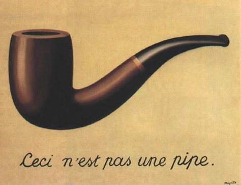 Ren? Magritte, The Treachery of Images, 1928–29, Restored by Shimon D. Yanowitz, 2009